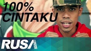 Repeat youtube video Mas Idayu Feat. Juzzthin & W.A.R.I.S - 100% Cintaku [Official Music Video]