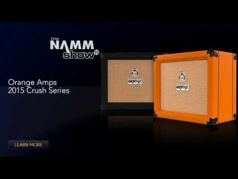 Orange Amplifiers Crush Guitar Combo Amp Series - NAMM 2015