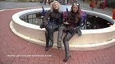 8083e0d12d3 Marco Tozzi Dussi 85 26639-21-096 Black knee-high boots - YouTube