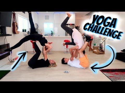EXTREME YOGA CHALLENGE W/ TAYLER HOLDER, & KELIANNE STANKUS!