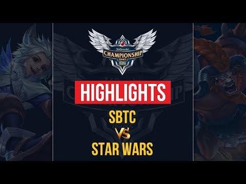 HIGHLIGHTS SBTC vs STAR WARS   VÒNG LOẠI HCM   MOBILE LEGENDS BANG BANG thumbnail