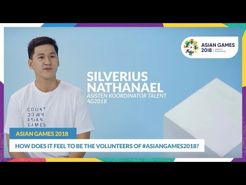 How Does it Feel to Be The Volunteers of #AsianGames2018?