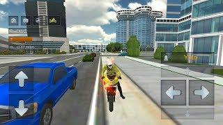 Police Motorbike Simulator 3D #3 - Androi Gameplay - Motor Bike Games For Kids