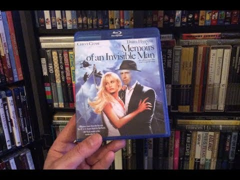 Memoirs of an Invisible Man BLU RAY REVIEW + Unboxing