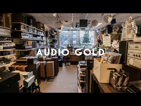 Audio Gold - Inside the Aladdin's cave of analogue hi-fi