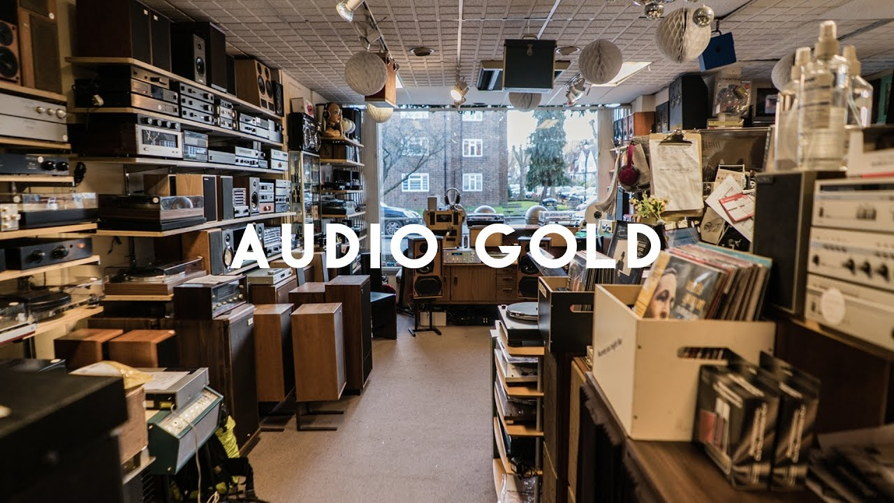 Audio Gold – New and used HiFi, record players, turntables, record