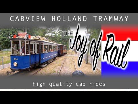 Electrische Museumtramlijn Amsterdam CABVIEW HOLLAND [TRAMWAY] 14jul 2019