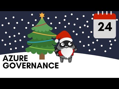 Day 24 - Azure Governance