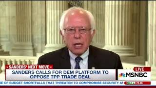 A Platform That Represents Working Families | Bernie Sanders