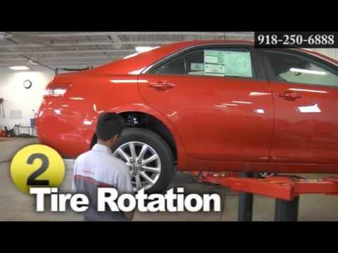 Wheel and Tire Shop for Toyota Tire Size Tulsa Broken Arrow OK