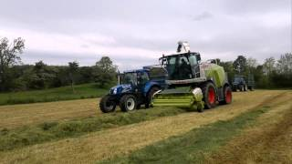 Claas 950 Silaging Cumbria J Stamper