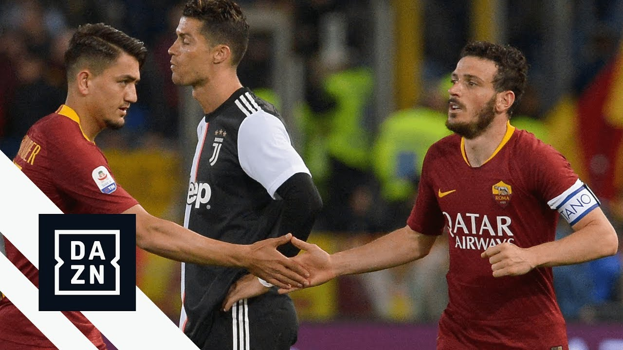 Highlights Roma Vs Juventus Serie A 2018 19 Youtube