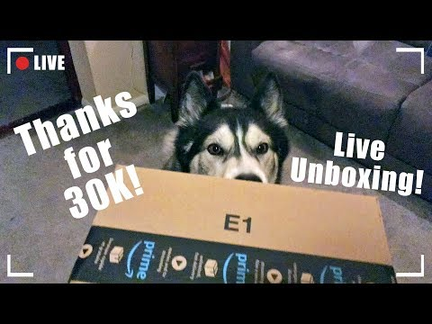 Live Unboxing Plus Thanks For Over 30K