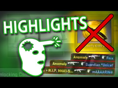 TWITCH HIGHLIGHTS 2 - INSANE SHOTS + KNIFE TROLL