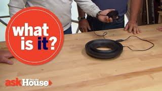 What Is It?   Black Circle with Electrical Cord