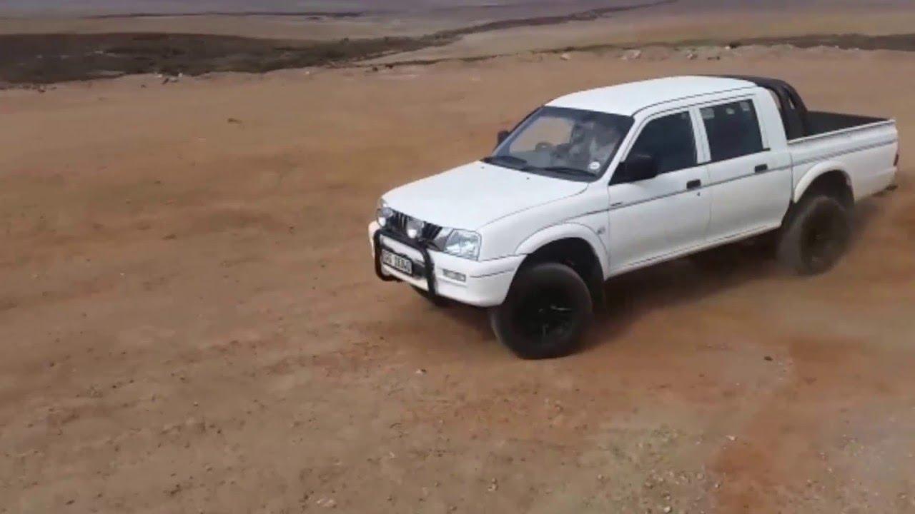mitsubishi colt rodeo 2.4! turning some wheels! - youtube