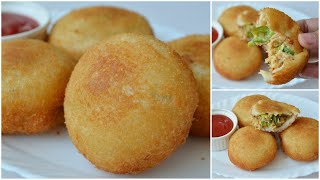BREAD BALLS || Mayo Chicken Balls by (YES I CAN COOK)