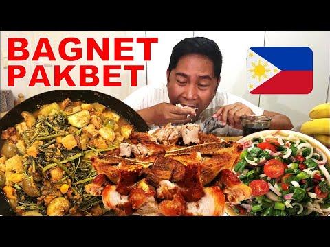 BAGNET!!! PAKBET/PINAKBET!!! At iba pa. Filipino Food. Mukbang.