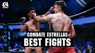 Alejandro Flores Headlines The Best Fights Of Combate Estrellas 2019 | MMA