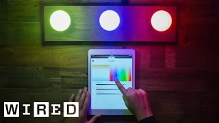 A Look at the Philips Hue Connected Light Bulbs-Gadget Lab-WIRED