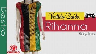 [Versão destro] Vestido - Saída de praia Rihanna | BYA FERREIRA
