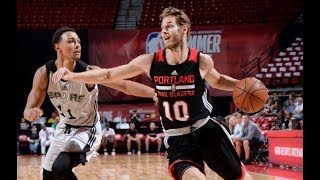 Full Highlights: Portland Trail Blazers vs San Antonio Spurs, MGM Resorts NBA Summer League