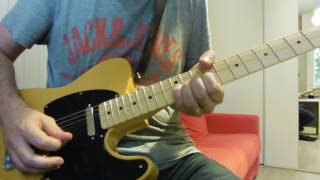 Fender Special Deluxe Telecaster Hotel California solo guitar cover.mp3