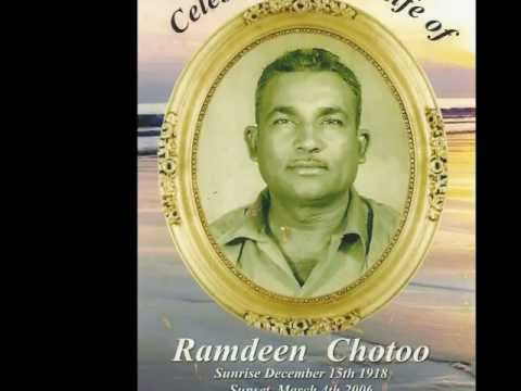 A Biraha Song By Ramdeen Chotoo