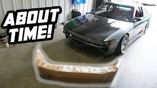 homepage tile video photo for My 240SX is about to get a new look!