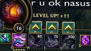 league of legends but nasus can only press q