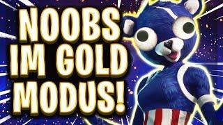 🤪🥊😂ABSOLUTE NOOB-LOBBYS im Gold Modus! | Trymacs zum ersten Mal völlig überlegen in Fortnite!