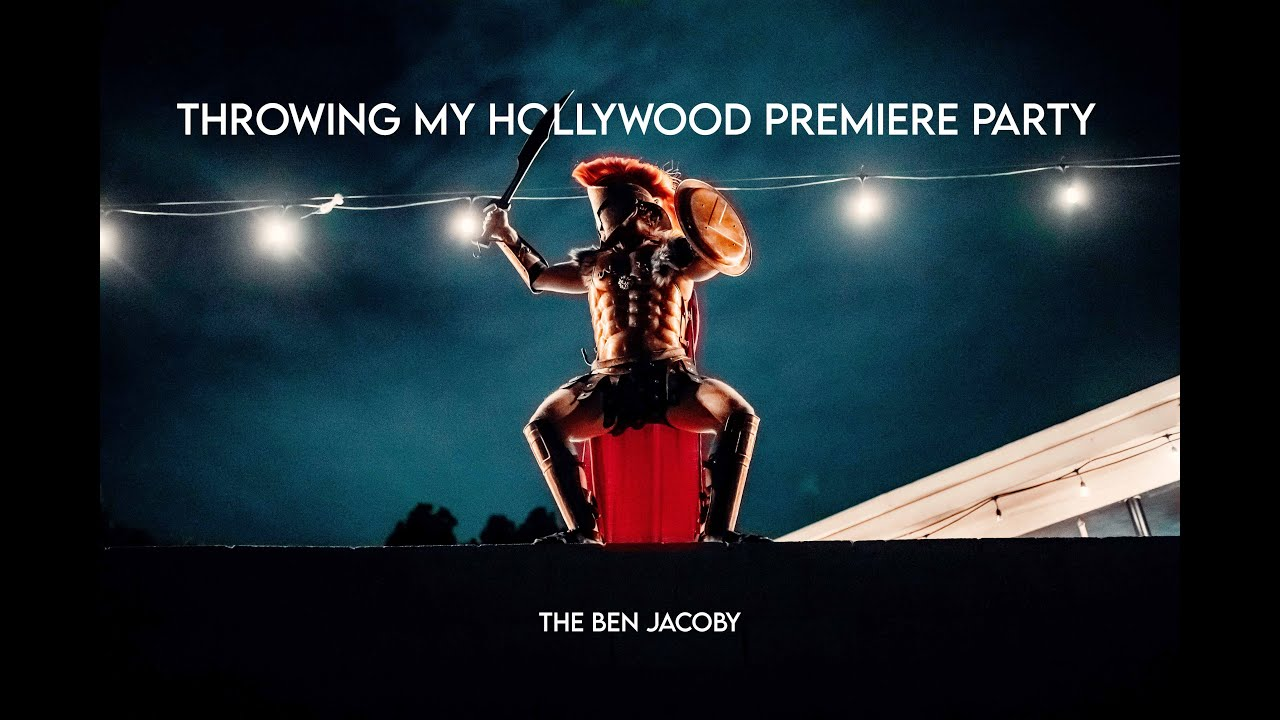 Throwing my Hollywood Premiere Party