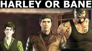 Head Off Harley Or Head Off Bane - Alternative Choices - BATMAN Season 2 The Enemy Within Episode 2