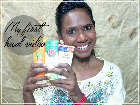My First Haul Video 2015 // Beauty Products// Sakunthala N