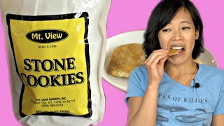 STONE COOKIES Taste Test & Recipe | HARD TIMES - food from times of scarcity