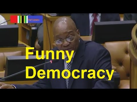 MUST WATCH: Jacob Zuma arguing with DA (funny democracy) Mp3