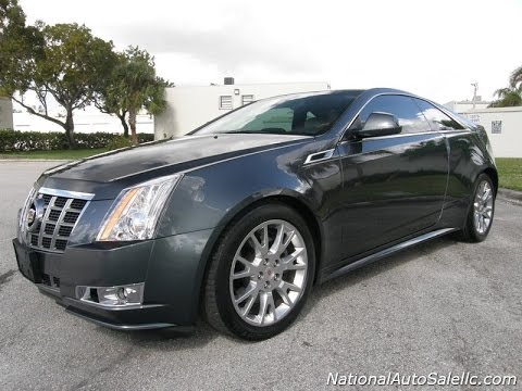 For Sale 2012 Cadillac Cts V6 Coupe With Navigation And