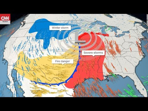 GSM Update 4/13/18 - Winter Storm Xanto - BLIZZARD WARNINGS - Chemtrail Fraud