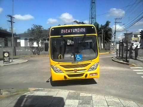 Movimentaçao de onibus terminal osvaldo colin(joinville sc)