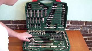 Набор инструментов 150 предметов, обзор
