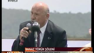 Bugün Yaşamını Yitiren Mustafa ÖZBEK'in 4. Uşak-Banaz Yörük Şenliği Konuşması - 2 Haziran 2008