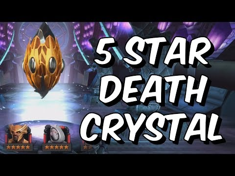 5 Star Death Crystal Opening! - Can We Hit The 5 Star Ghost Jackpot?! - Marvel Contest of Champions