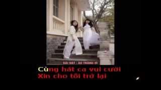 ÁO TRẮNG ƠI - Thơ : Biển Xanh - Phổ nhạc : HẢI ANH Karaoke khong loi