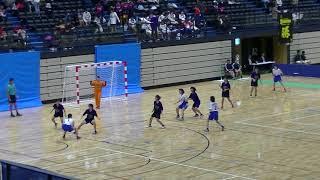 20191201福岡県中学新人ハンドボール(女子) 決勝 春吉vs多々良中央(前半)