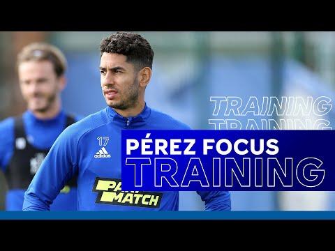 Pre-Aston Villa Training - Ayoze Pérez Focus   Leicester City vs. Aston Villa   2020/21