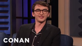 """What Isaac Hempstead Wright Stole From The """"Game Of Thrones"""" Set - CONAN on TBS"""