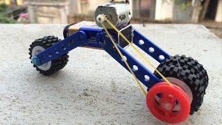 Video How to Make a Toy Motorcycle |9v Battery Motorbike download MP3, 3GP, MP4, WEBM, AVI, FLV Juni 2018