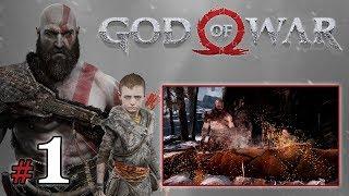 """GOD OF WAR [PS4] (18+) #1 - """"Śmierć i poszukiwanie jelenia"""""""