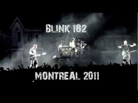 Blink 182 Live Montreal Centre Bell Center 2011