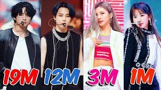 TOP 50 Most VIEWED K-Pop FANCAMS of 2020
